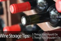 How to Store Your Wine / Tips and tricks for saving and storing wine