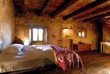 Bedrooms / Rustic Interior