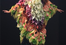dress with anthuriums