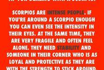 Scorpio stuff
