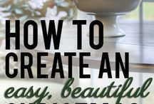 Festive Fun / Crafts, articles, 'to-try's to make ANY occasion or holiday festive.