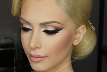 Bridal makeup for blondes