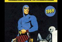 Sarjakuvat / Egmont Kustannuksen julkaisemien sarjakuvakirjojen ja -lehtien kansikuvia.