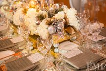 Winter Wedding Ideas / Great ideas as you plan the decor for a wedding and reception event.