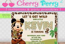 Mickey Mouse Safari BirthDay Party