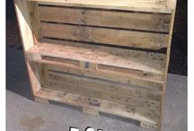 Pallets book case