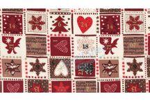 Navidad / Christmas / Telas para navidad - Christmas fabric