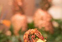 catering / causa limeña con salsa de sellao