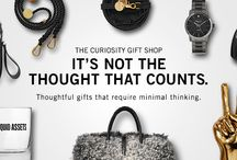 Curiosity Gift Shop for Her / Thoughtful gifts that require minimal thinking.