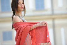 Serena / elegant shawls for an Italian wedding