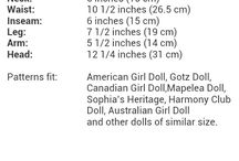 American Girl Doll Clothes Patterns