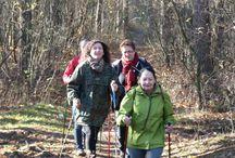 Listopadowy rajd Nordic Walking-10.11.2013r.