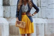 Yellow Skirts Inspiration / We love vibrant and eye catching skirts! Share your best Yellow Skirts you can find on the web. Feel free to post and invited your friends <3
