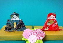 折り紙 ひな祭り