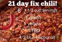 21 day recipes / by Jade Newkirk