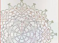 ドイリー 編み図