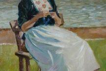 L'uncinetto e la maglia nell'arte