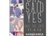 wedding invitations/save the dates / by Ashlee Raines