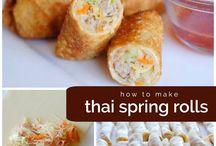 Spring roll recipes