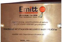 EMITT 2016 Ödül / EMITT 2016 Ödül
