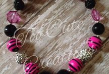 Too Cute Creations- Chunky Necklaces