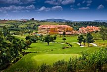 Golf on the Lisbon Coast /  Lisbon golf holidays offer challenging and picturesque courses and high quality hotels.  Quinta Da Marinha near Cascais has golf onsite and you have the chance to play the superb Oitavos Dunes.  Golf in Lisbon will not disappoint!