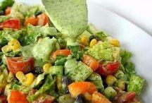 салаты и шубы (овощные)