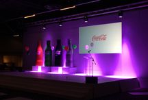 Coca Cola Gala Dinner / Lighting, Sound, Projection, Event, Staging