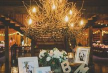 Wedding Lighting Trends-2017 / From twinkling string lights, glowing candles to branch chandeliers, the right wedding lighting can carry out your style. Nothing sets the mood for your wedding quite like lighting. The right lighting is more than just functional — it also creates an unforgettable ambiance. Illumination is everything when it comes to elevating an ordinary space to something extraordinary. From the expected to the unexpected and the chic to the whimsical, the choice is yours.