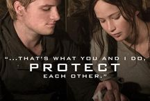 Hunger Games / They showed us what is right to stand for. They taught us what true love means. <3