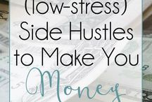 Side Hustles! / Let's make money! Ideas for all kinds of side hustles.