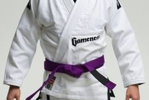 Gameness White Pearl Gi / The Gameness Pearl Gi defines the new look of Gameness:  simple and clean.  The quality construction can be seen throughout the Gi with reinforcements in all the right places, making this a gi that will stand up to intense training for years.  All Gis are not created equal, and you can feel the premium cotton used as soon as you put on the Pearl Gi.