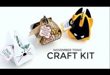 Papercrafts - Tonic Kit