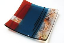 glass - fused - plates