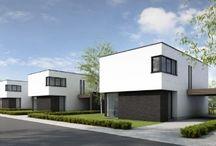 Moderne huizen / Bouwstijl modern