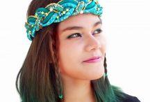 Headband Coroa de Tranças / Design exclusivo da brasileira Kiri, as #headbands em estilo coroa de trança são lindas, românticas e sofisticadas. #kiribrasil.com