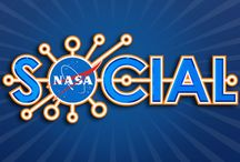 """NASA Social Media Events / Community board containing pins from NASA Social Media Events (formerly called """"TweetUps"""" from NASA centers all around the US. / by NASA/N.C. Space Grant"""