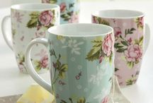 mugs,cups and teaspoons / by Barbara Yett