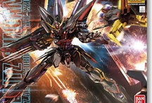 gunpla / Gundam model kits on my wishlist / by Albert Lay