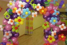 Balloons Art / Süsleme Örnekleri