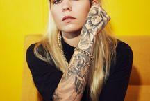 Skylar Grey Tattoo