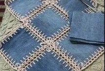 crochet jeans