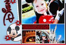 Disney scrapbook pages