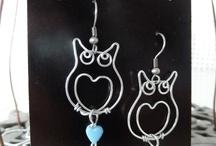 wire-ware owls