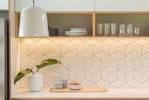 kaboodle kitchen / splash back