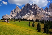 The Italian Dolomites / Italy's spectacular rooftop, the Dolomites, offers some of the best mountain walking in Europe. Here is where the landscape of the Dolomite mountains enthralls walkers with the constantly changing play of light on towering peaks, the fresh country air, rich culture and traditions that vary from valley to valley. See more at TouchingNature.co.uk