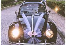 Decor masina nunta