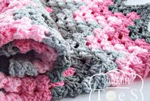 coperta rosa grigio
