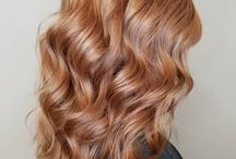 Strawberry blonde hairstyles