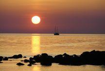Nefeli's Sunsets / amazing sunsets in front of Nefeli
